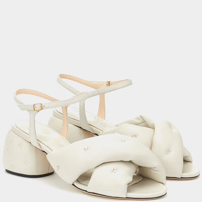 Chubby Cross-Over Sandals  by Anya Hindmarch