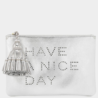 Have A Nice Day Georgiana Clutch