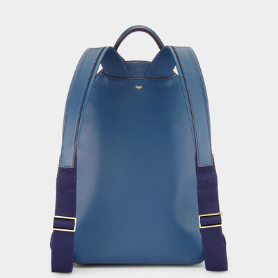 Silver Cloud Mini Backpack by Anya Hindmarch