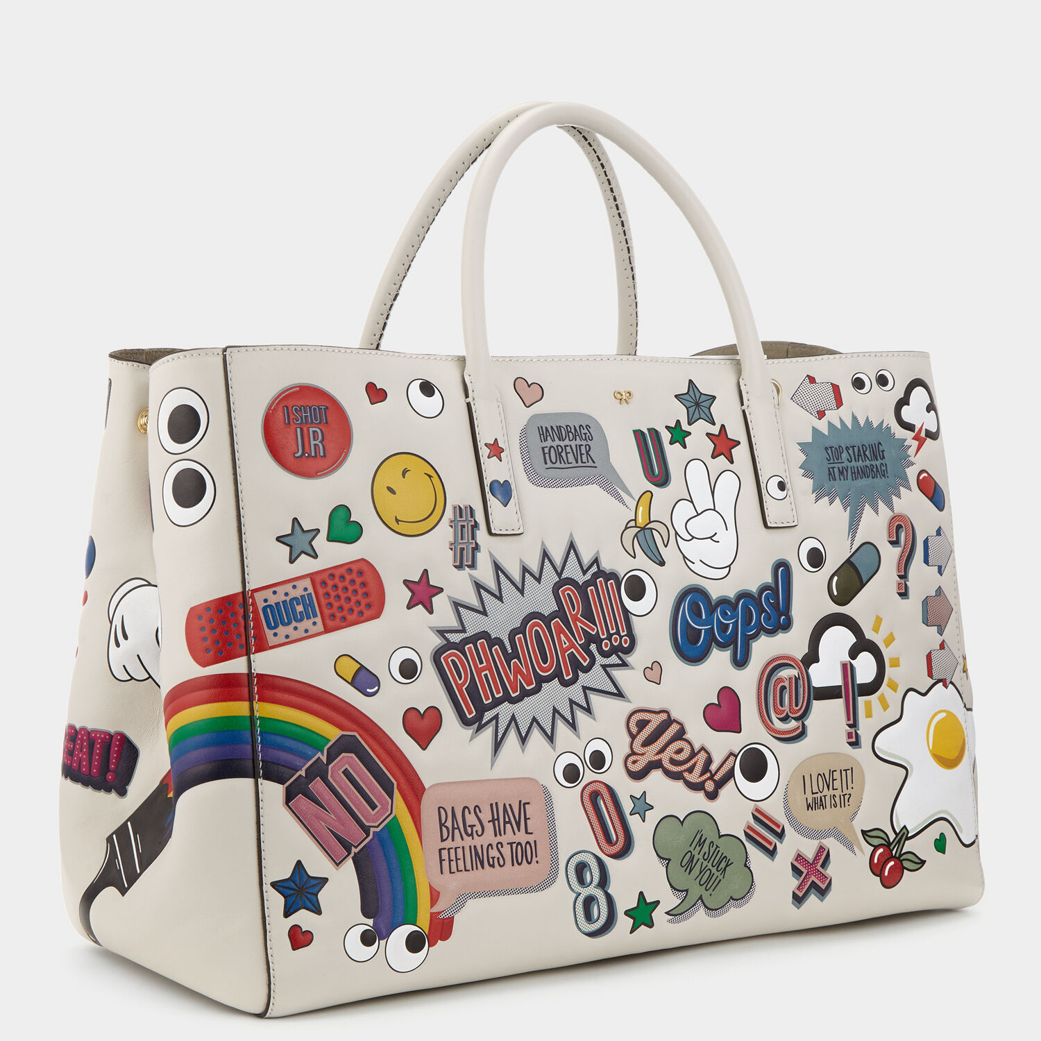 all over stickers maxi ebury by anya hindmarch