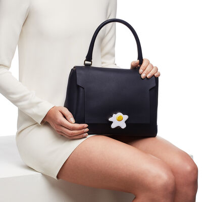 Egg Bathurst Satchel by Anya Hindmarch
