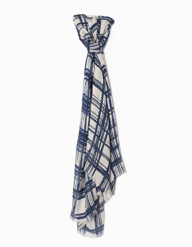 Women's chequered stole