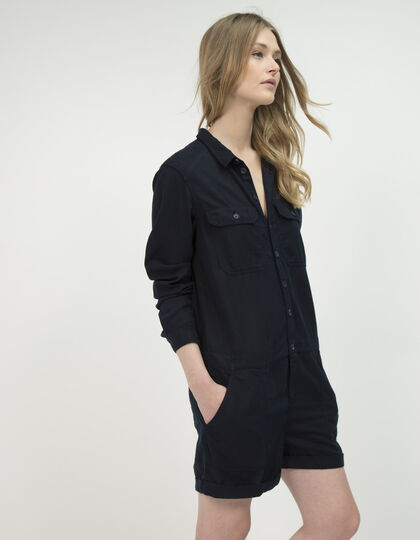 Women's lyocell playsuit - IKKS Women