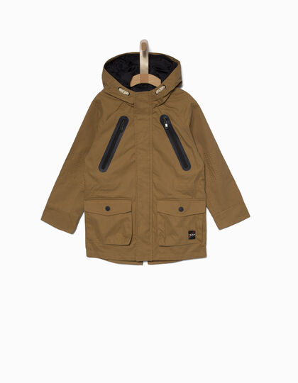 Boys' hooded parka - IKKS Junior