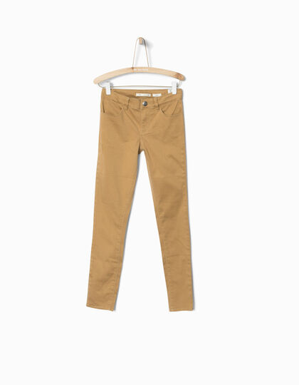 Girls' camel trousers - IKKS Junior