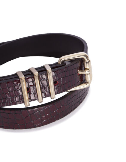 Women's leather belt - I.Code