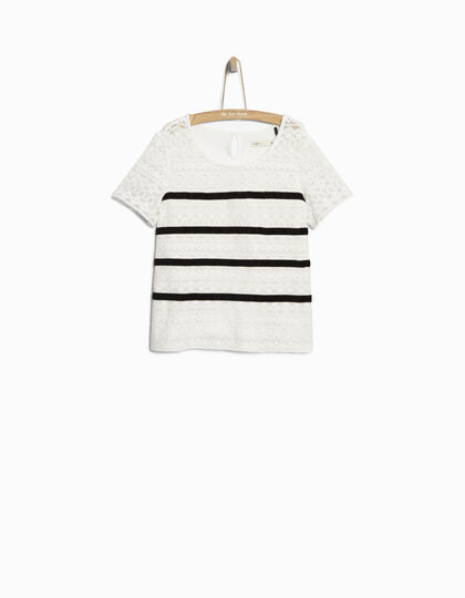 Girls' lace top - IKKS Junior