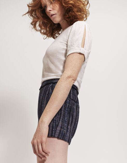Women's jacquard shorts