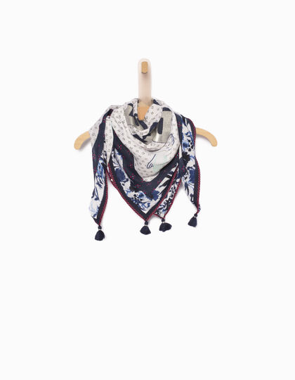 Girls' blue scarf - IKKS Junior