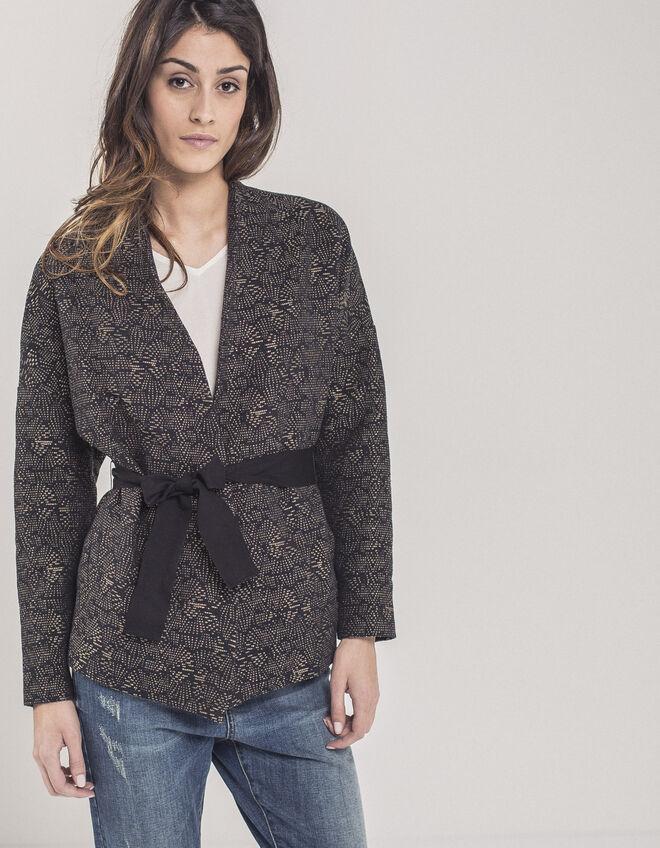 veste kimono femme i code ikks mode archive h16 automne hiver