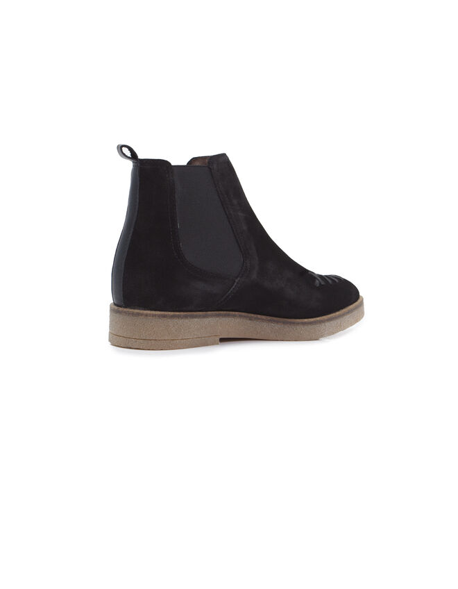 Boots negras mujer