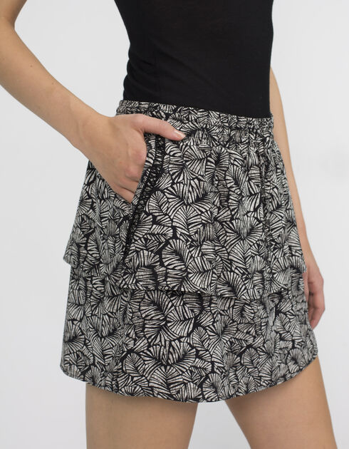 Women's printed skirt