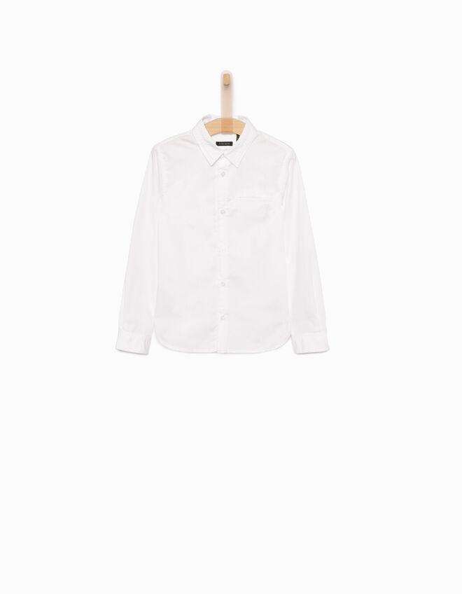 chemise blanche gar on ikks mode chemise automne hiver. Black Bedroom Furniture Sets. Home Design Ideas