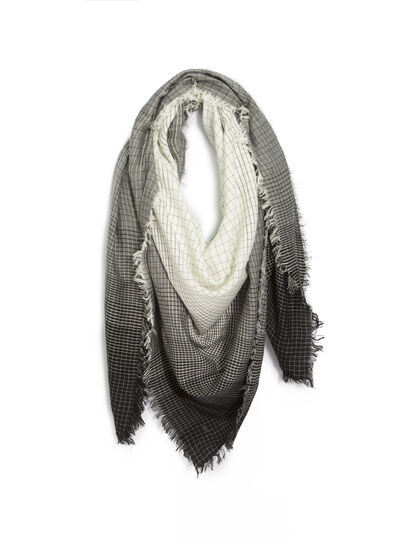 Men's chequered scarf - IKKS Men