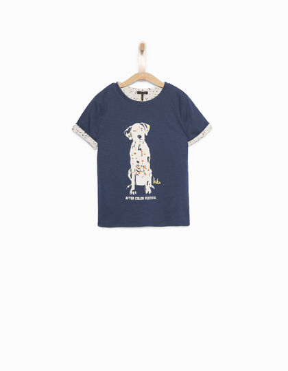 Boys' reversible T-shirt - IKKS Junior
