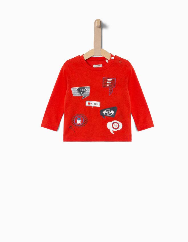 baby boys 39 t shirt ikks fall winter ikks t shirts shirts polo shirts. Black Bedroom Furniture Sets. Home Design Ideas