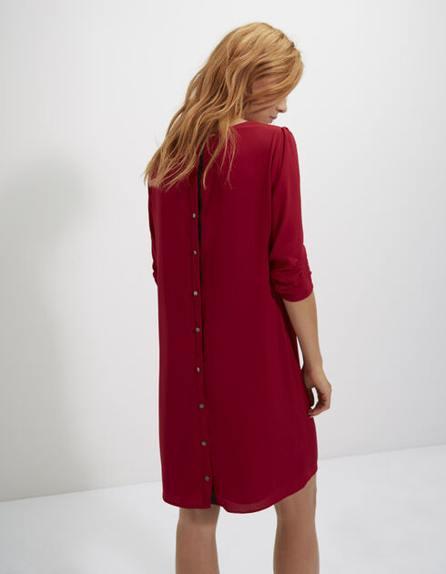 Buttoned back dress