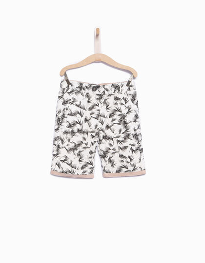 Reversible boys' Bermuda shorts - IKKS Junior