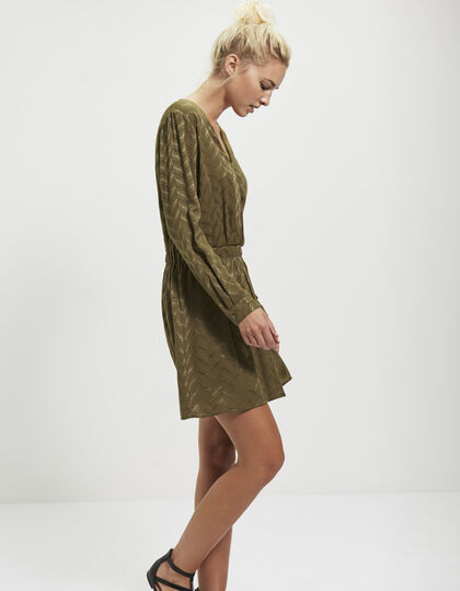 Women's jacquard dress - IKKS Women