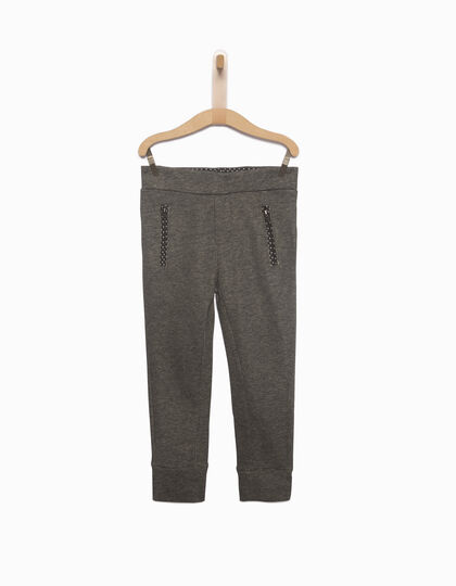 Boys' cotton fleece trousers - IKKS Junior