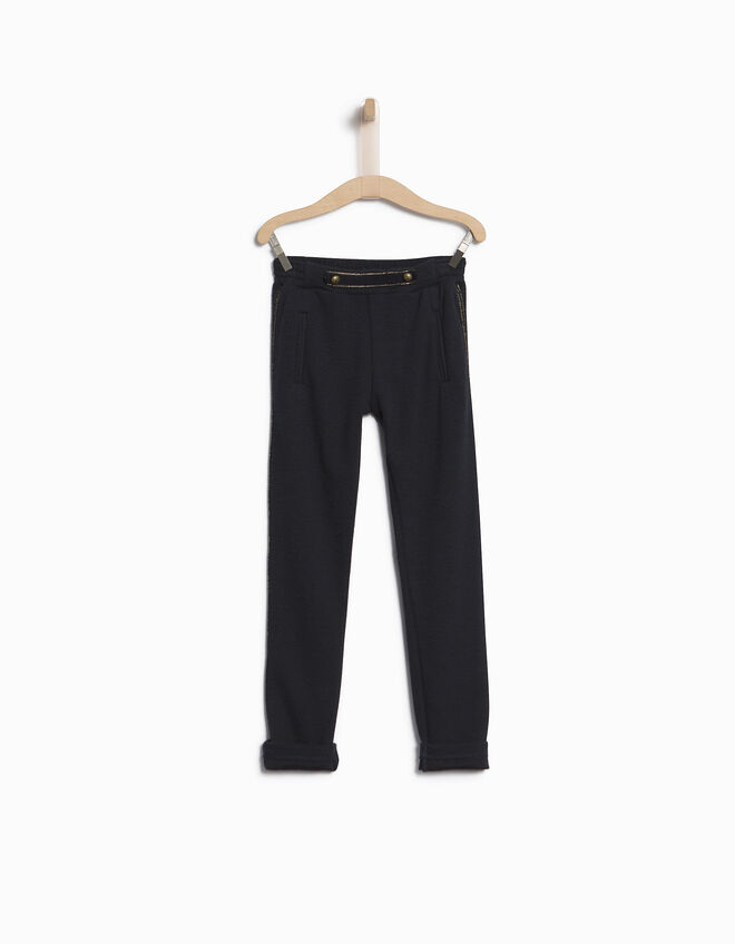 Girls' blue trousers