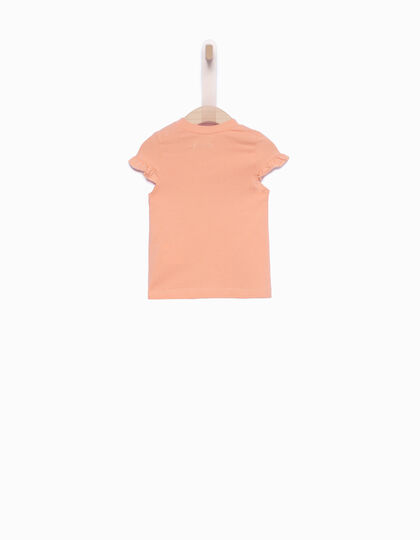 Tee-shirt bébé fille corail - IKKS Junior