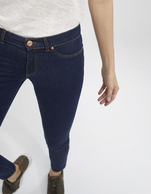 Women's blue jeggings