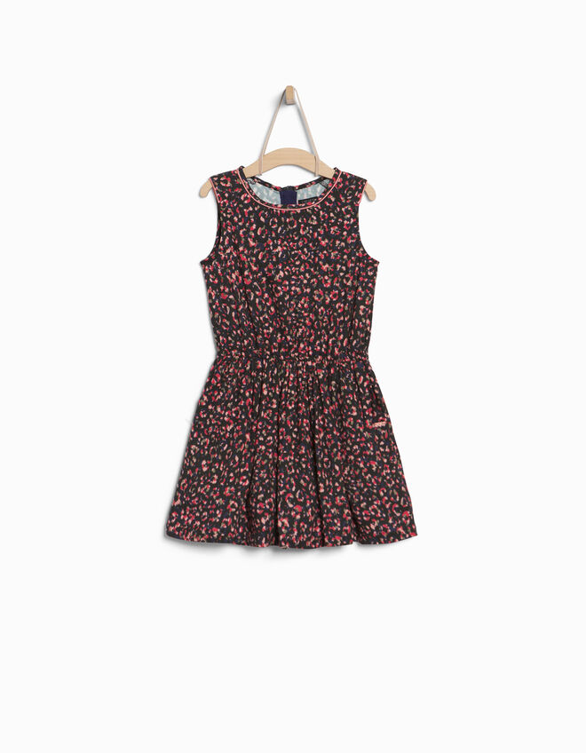 Girls' 2-in-1 dress