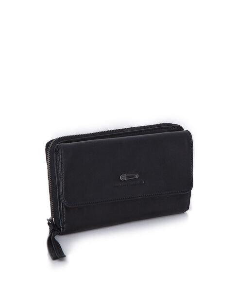Women's black wallet