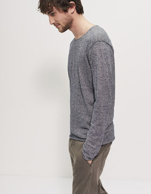 Men's blue sweater