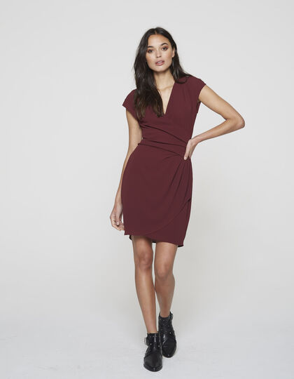 Draped and tailored dress - IKKS Women