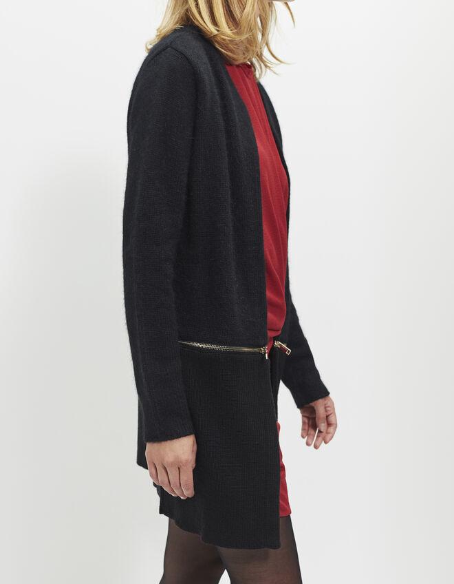 cardigan long femme ikks mode archive h16 automne hiver. Black Bedroom Furniture Sets. Home Design Ideas