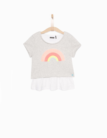 Sweat fille gris - IKKS Junior