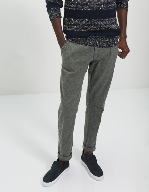 Pantalon tapered homme