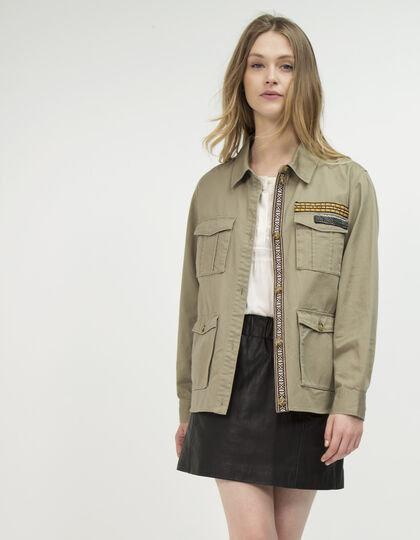 Women's army jacket - IKKS Women