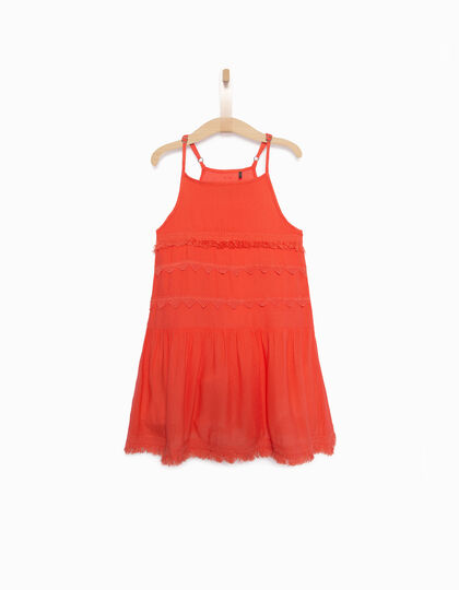 Girls' red dress - IKKS Junior