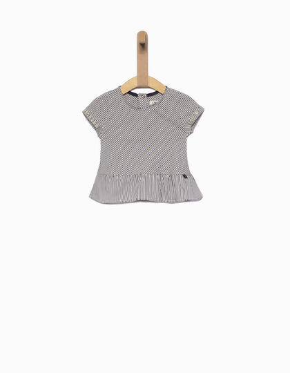 Baby girls' striped blouse - IKKS Junior