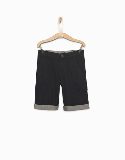 Boys' combat Bermuda shorts - IKKS Junior