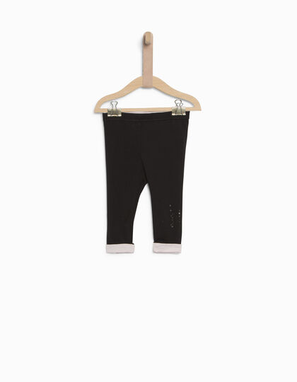 Leggings noir bébé fille - IKKS Junior