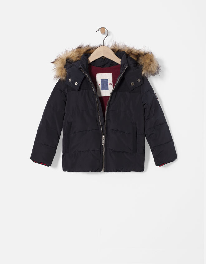 Boys' hooded jacket