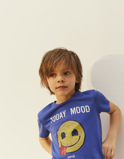 Boys' blue T-shirt - IKKS Junior