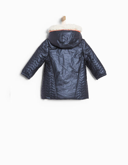 Navy blue padded jacket - IKKS Junior