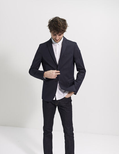 Men's navy jacket - IKKS Men