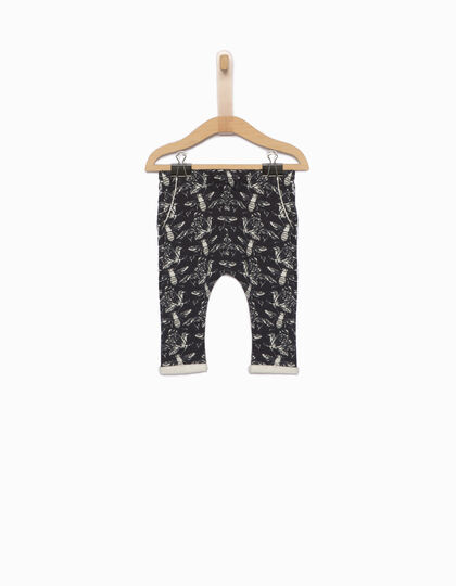 Babies' bee-print harem trousers - IKKS Junior