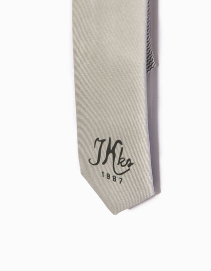 Boys' grey tie - IKKS Junior