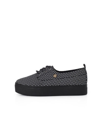 Women's black trainers - I.Code