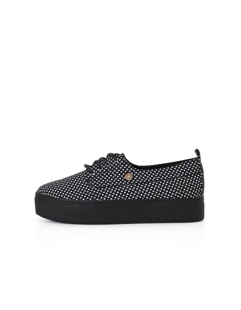 Women's black trainers