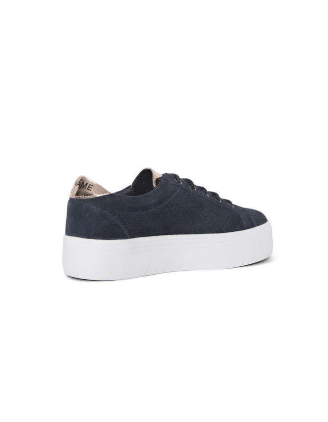 Women's blue trainers
