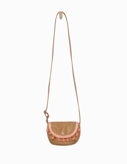 Girls' camel bag - IKKS Junior