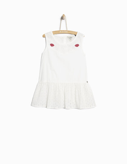 Girls' white top - IKKS Junior